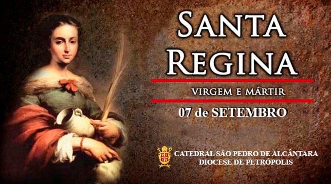 Santa Regina – 07/09