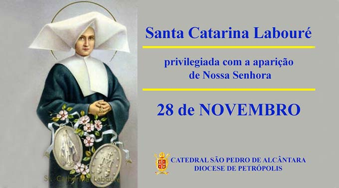 Santa Catarina Labouré – 28/11
