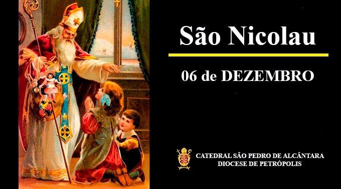 São Nicolau – 06/12 – Bispo de Mira