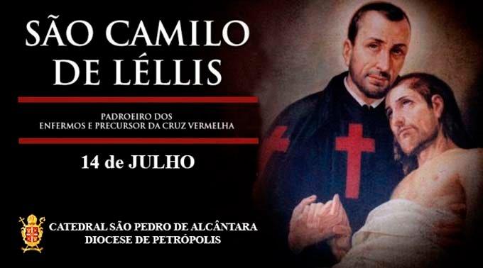São Camilo de Léllis – 14/07